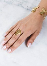 RACHEL JACKSON Electric Goddess Ring - Gold