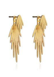 RACHEL JACKSON Electric Goddess Earrings - Gold