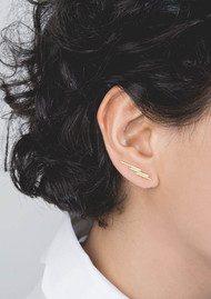 RACHEL JACKSON Electric Goddess Ear Crawlers - Gold