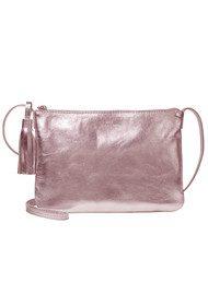 Becksondergaard Lymbo Glitz Leather Bag - Rose Dust