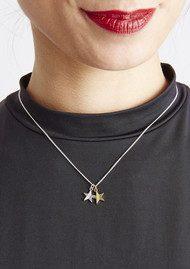 RACHEL JACKSON Good Vibes Star Necklace - Luck