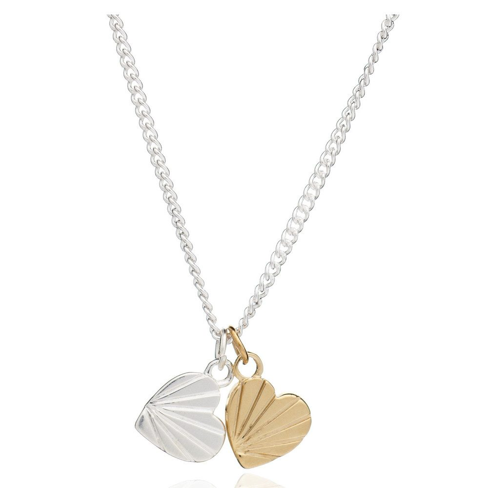Good Vibes Heart Necklace - Love