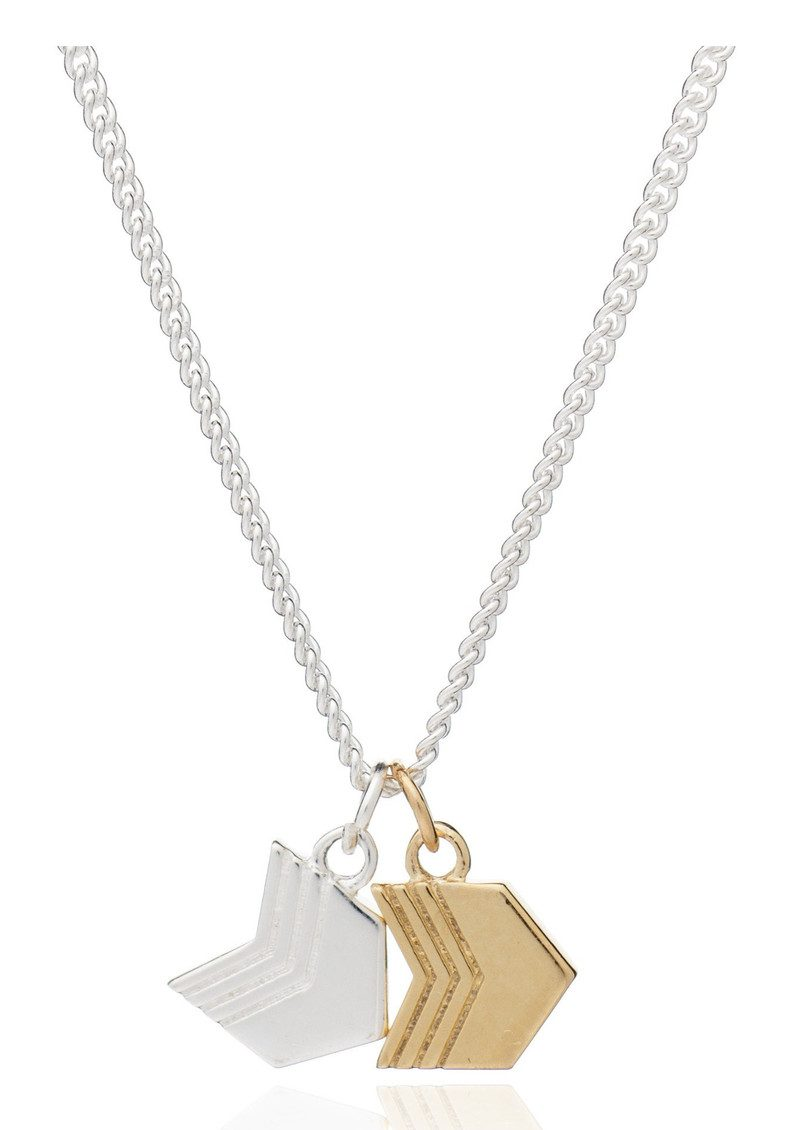 RACHEL JACKSON Good Vibes Arrow Necklace - Adventure main image