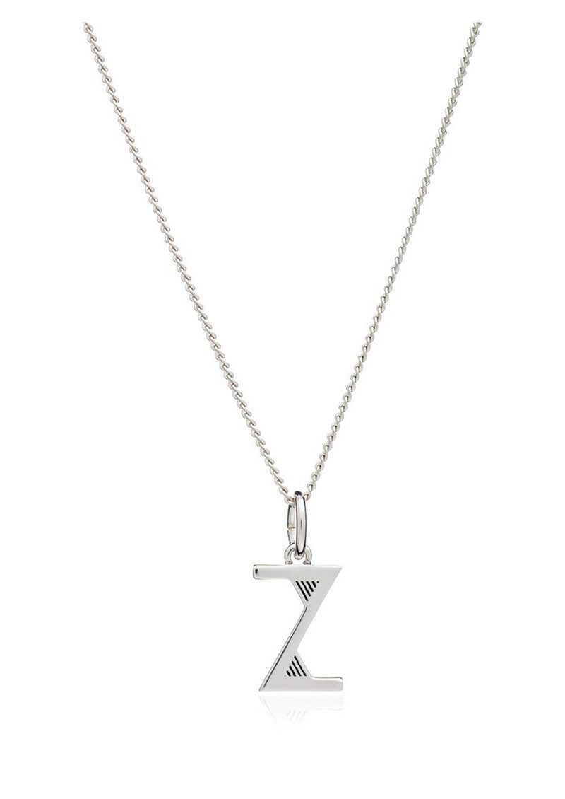 RACHEL JACKSON This Is Me 'Z' Alphabet Necklace - Silver main image