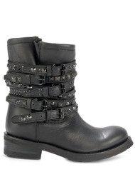 Ash Tempt Biker Boots - Black