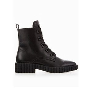 Jada Leather Boots - Black