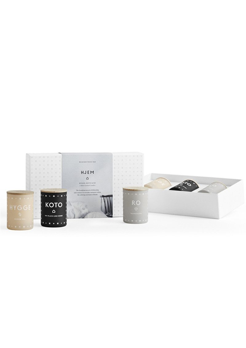 SKANDINAVISK Scented Mini Candle Set - Hjem main image