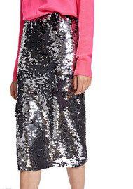 SAMSOE & SAMSOE Kelis Skirt - Silver