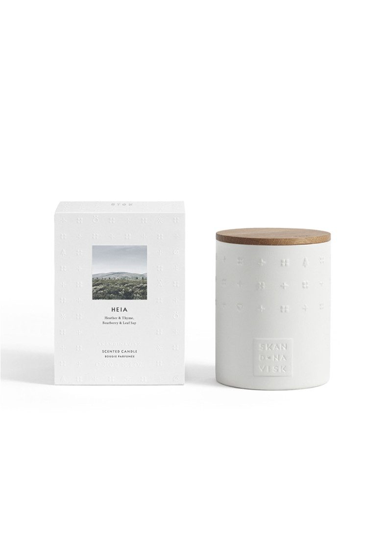 SKANDINAVISK The Escapes Scented Candle - Heia main image