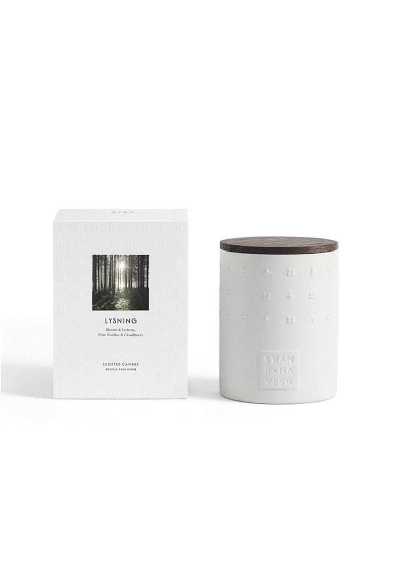 SKANDINAVISK The Escapes Scented Candle - Lysning main image
