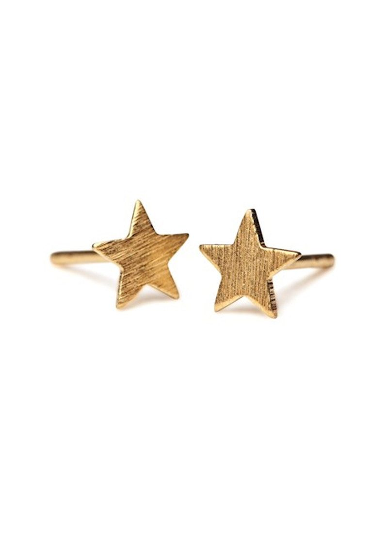 PERNILLE CORYDON Small Star Sticks - Gold main image