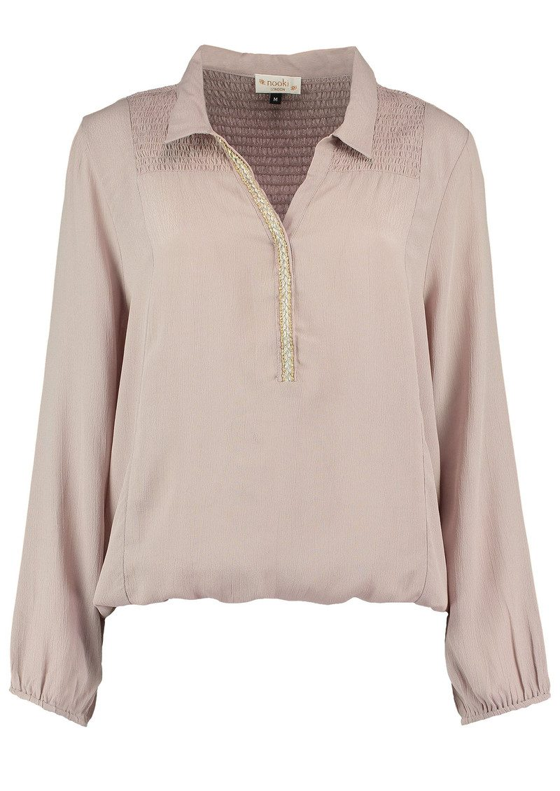 Sandie Blouse - Blush main image