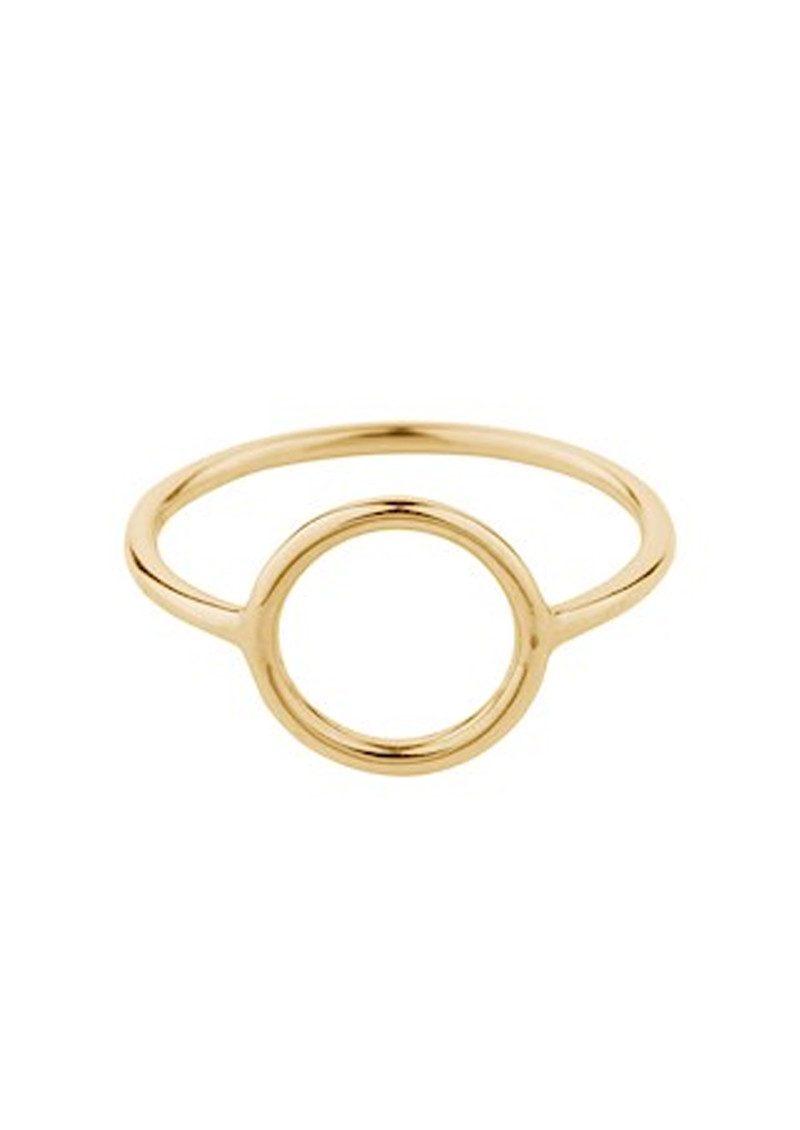 PERNILLE CORYDON Halo Ring Small - Gold main image