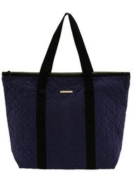 Day Birger et Mikkelsen  Day Gweneth QV Flower Velvet Bag - Midnight