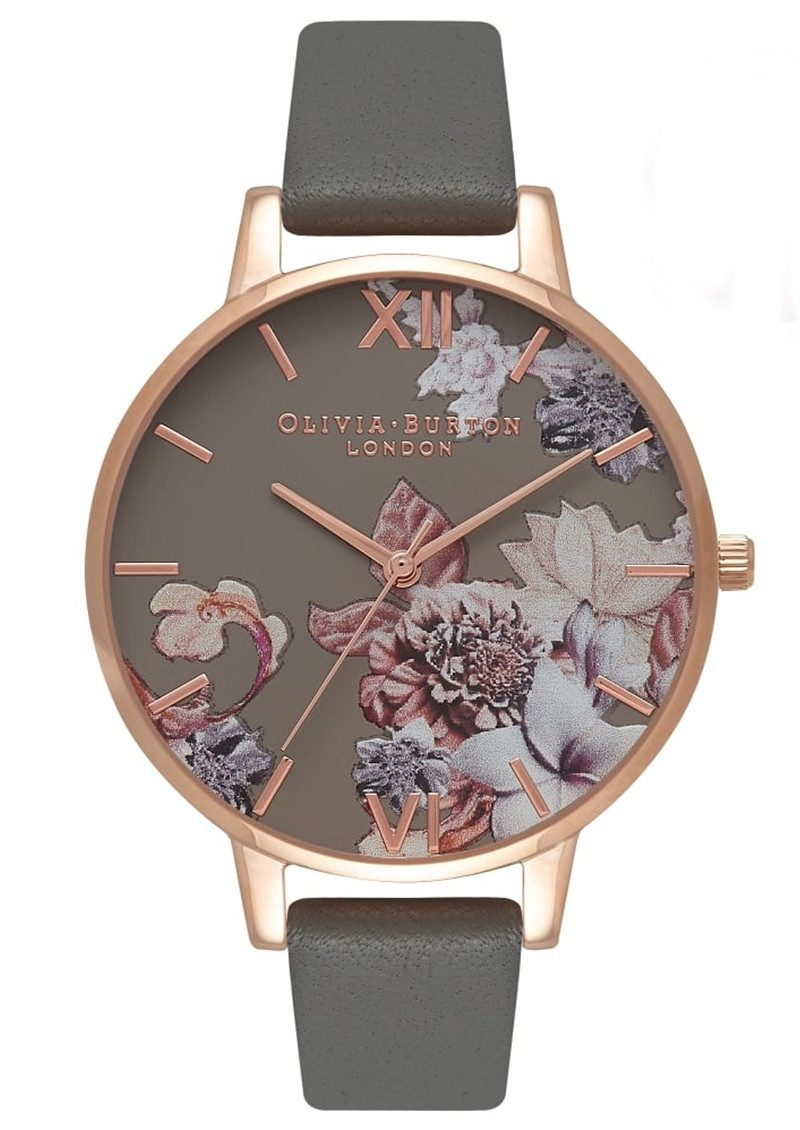 Grey And Gold Living Room Decor: Olivia Burton Marble Floral Watch