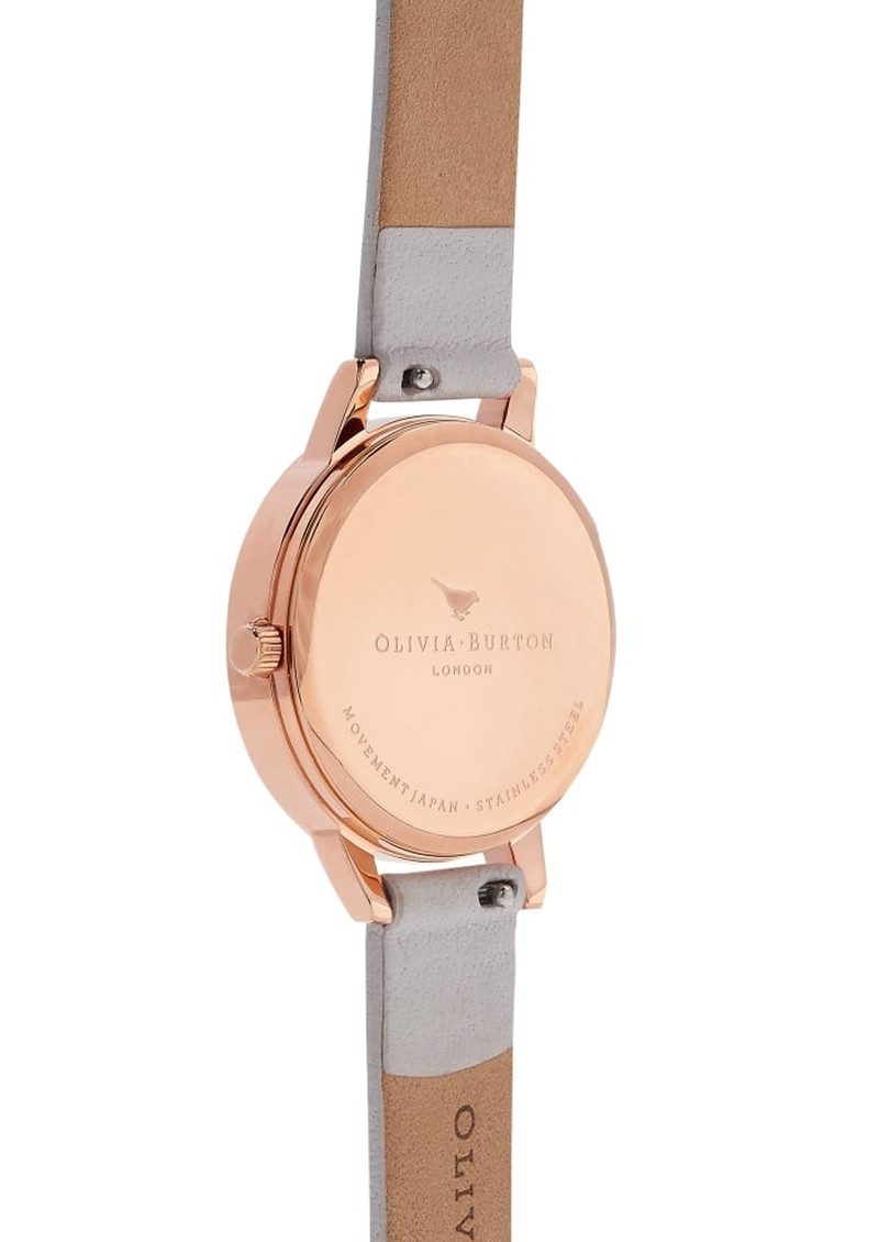 Olivia Burton Abstract Florals Midi Watch - Blush & Rose Gold main image