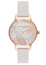 Olivia Burton Abstract Florals Midi Watch - Blush & Rose Gold