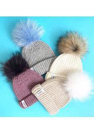 BOBBL Bobbl Cashmere Hat - Pink