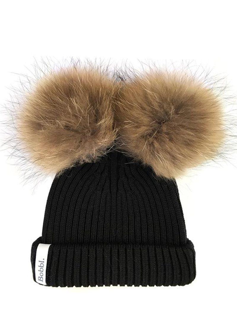 Bobbl Classic Duo Hat Black