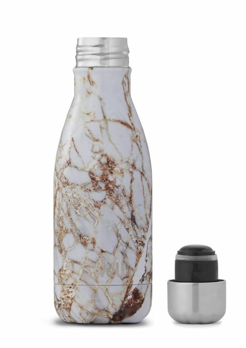 Swell The Element 9oz Water Bottle Calacatta Gold