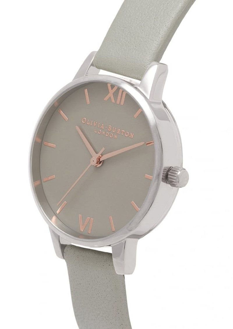 Watch Videos Music And Live Streams On The App: Olivia Burton Midi Grey Dial Watch