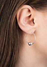 MARIA BLACK Hoop 8 Earring - Silver