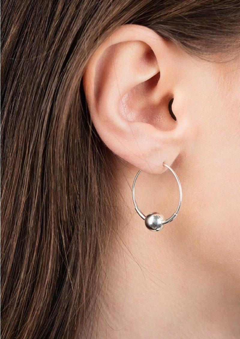 MARIA BLACK Hoop 8 Earring - Silver main image