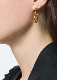 MARIA BLACK Chrissy Earring - Gold