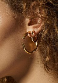 MARIA BLACK Disrupted 22 Earring - Rose Gold