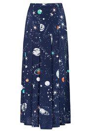 RIXO London Pre Order Georgia Skirt - Cosmic Constellation