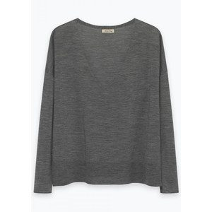 Lolapark Wool Sweater - Heather Grey