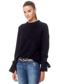 360 SWEATER Erika Cashmere Sweater - Black