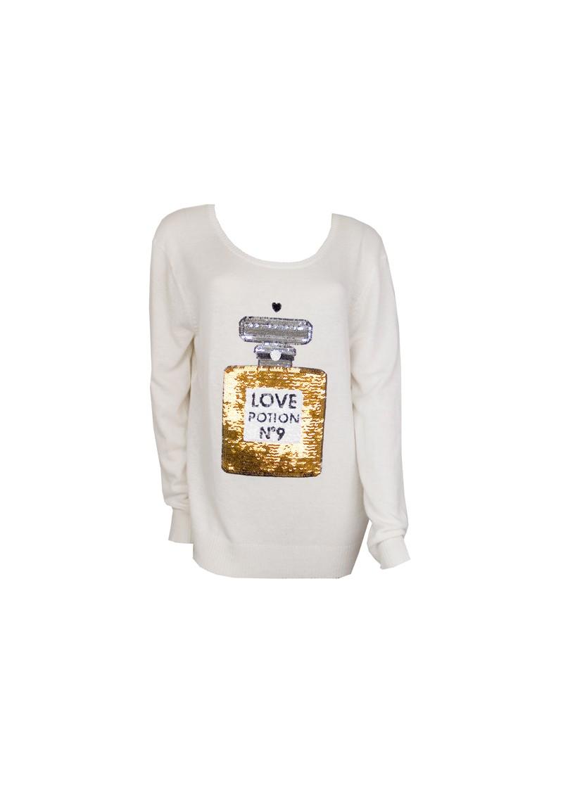 Wildfox Love Potion Jumper - Cream main image