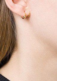 MARIA BLACK Helix Twirl Earring - Gold
