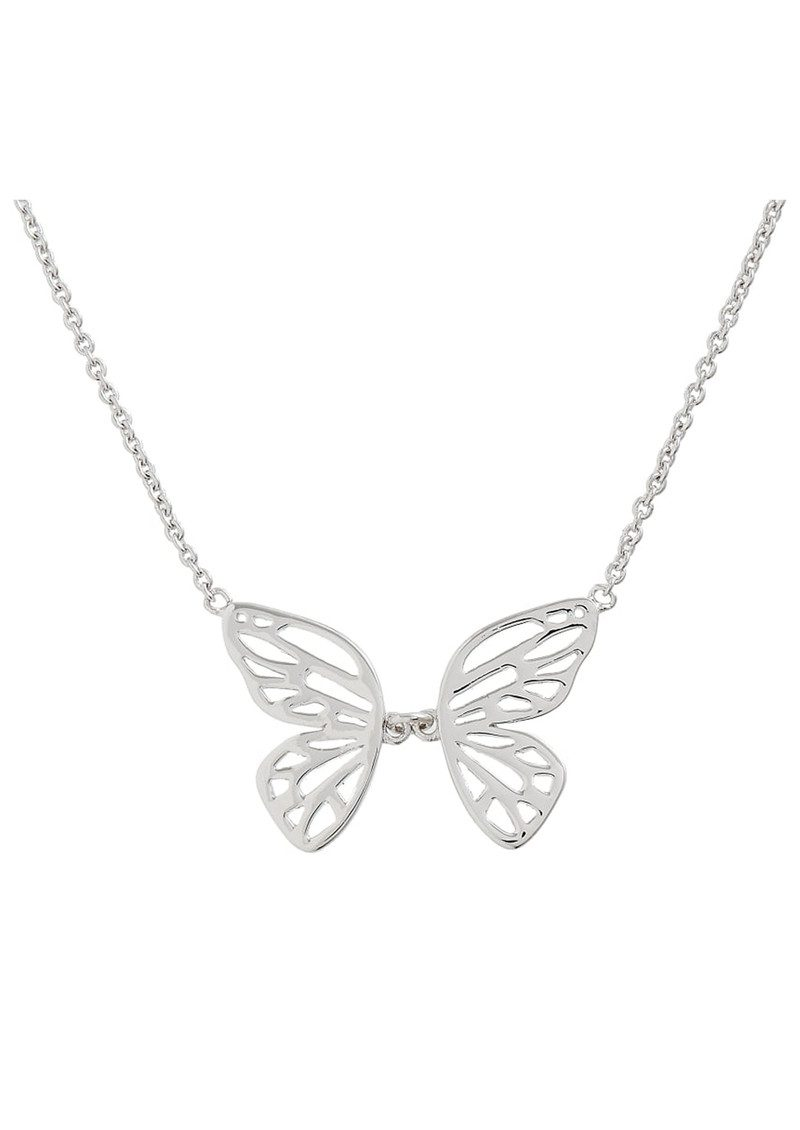 Olivia Burton Butterfly Wing Necklace - Silver main image