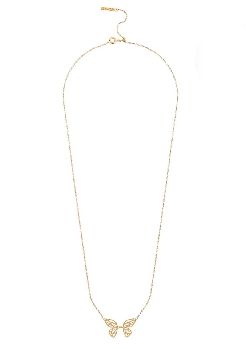 Olivia Burton Butterfly Wing Necklace - Gold main image