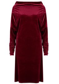 KAMALI KULTURE All in One Velvet Dress - Burgundy