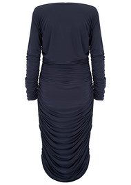 KAMALI KULTURE Tara Long Sleeve Dress - Pewter
