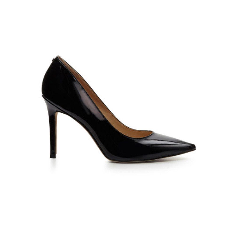 Hazel Heel - Patent Black