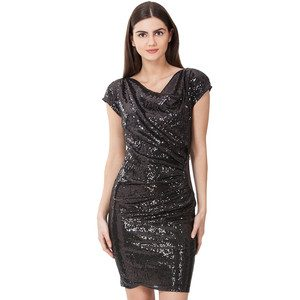 Sequin Dress - Black