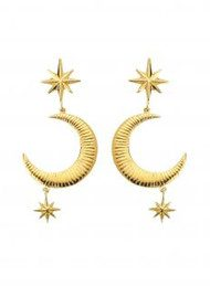 MARTE FRISNES JEWELLERY Marlowe Earrings - Gold