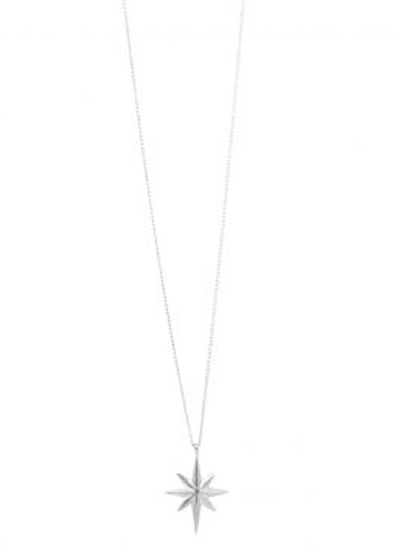 MARTE FRISNES JEWELLERY Colette Star Necklace - Silver main image