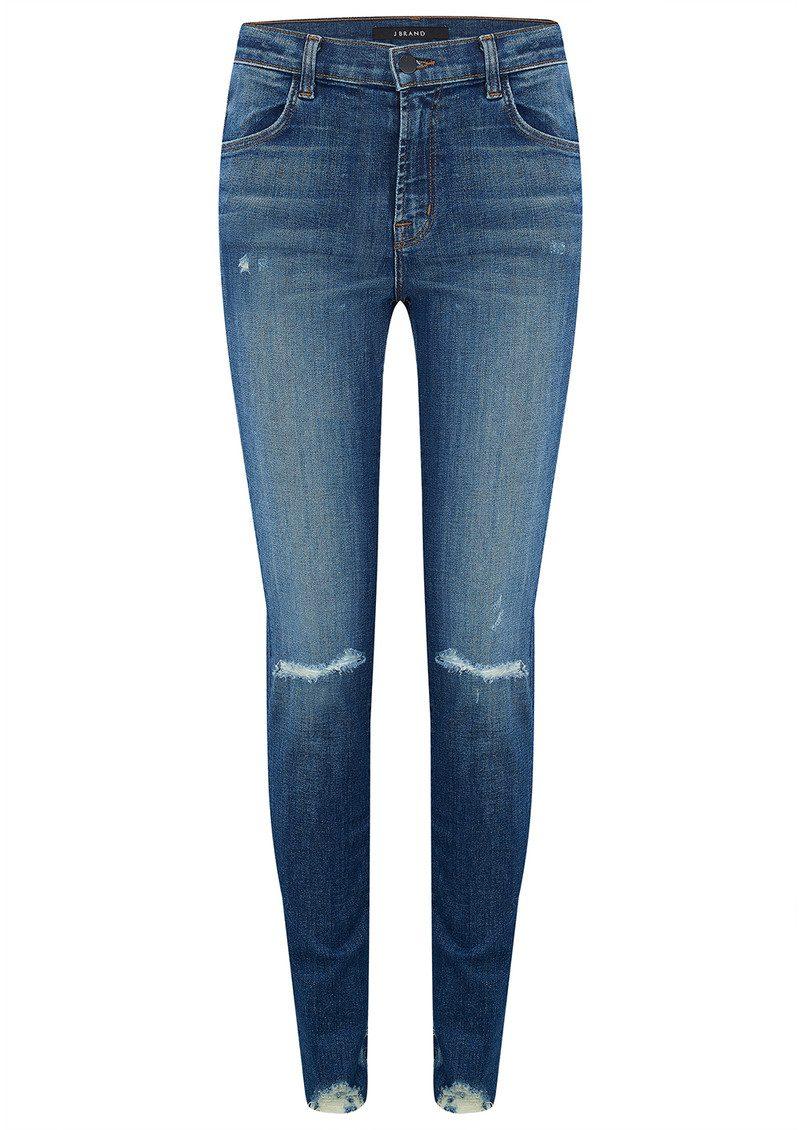 9f260fabffa J Brand Maria High Rise Super Skinny Jeans - Revoke Destruct main image ...
