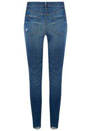 J Brand Maria High Rise Super Skinny Jeans - Revoke Destruct