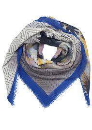 Becksondergaard Olina Wool Mix Scarf - Dazzling Blue