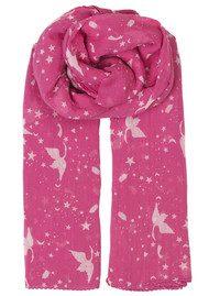 Becksondergaard Hira Cotton Scarf - Pink Yarrow