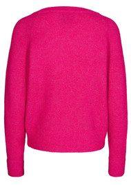 SAMSOE & SAMSOE Nor O-N Short Sweater - Pink Mel