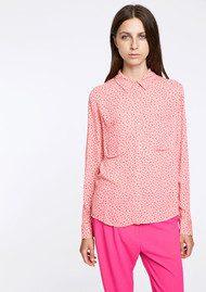 SAMSOE & SAMSOE Milly Shirt AOP - Petit Coeur