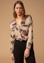 Twist and Tango Savannah Blouse - Cheetah Print