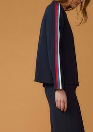 Twist and Tango Maddox Blouse - Navy